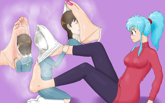 Botan's Foot Smother (Sweaty) by BSFLove