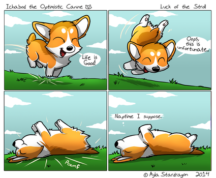 ItOC #1 - Luck of the Stroll by AylaStarDragon
