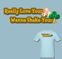Really Love Your Peaches Wanna Shake Your Tree Tee by Enlightenup23