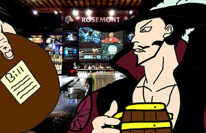 Mihawk your payment please by Hand-Banana