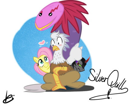 MLPBrony_SilverQuill by Ethereal-Harbinger