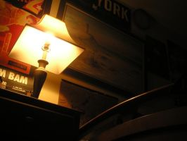 lamp by someoneARTSY