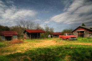 American Farm by PSRADICH