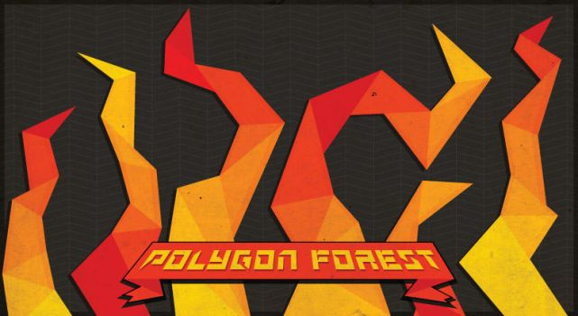 Polygon Forest by peacefreak99