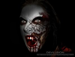Death in those eyes.. by D3vilusion