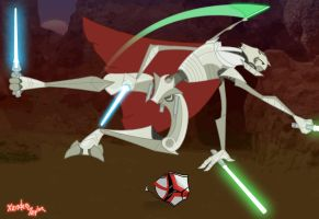 General Grievous by happydragonferret