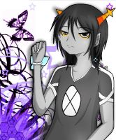 Homestuck OC: Aolite Midnil by KawaiiKitty129