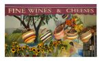 Fine Wines and Cheeses by shell4art