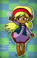 WB Character Card: Tetra by Jrynkows