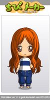 Chibi Nami by mathkid2010