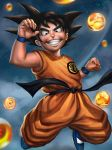 Kid Goku by talkin2wallz