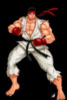 Ryu by Osmar-Shotgun