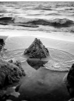 Water On Sand by Quit007