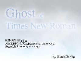 Ghost of Times New Roman by blackdahlia
