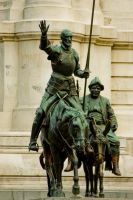 Don Quijote and Sancho Panza by mini---MIR