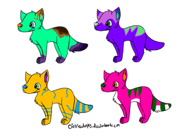 5 Point Adopts by scatteredSparks