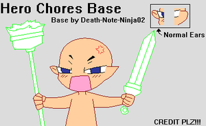 Base- Hero Chores by Death-Note-Ninja02