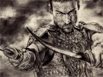 Spartacus: Andy Whitfield by ManiaAdun