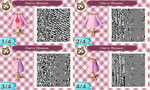 Animal Crossing Pattern - DP Cherry Blossom Suit by Freezair