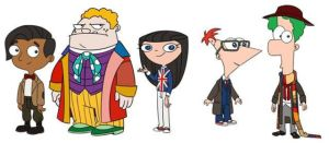 Phineas and Ferb As Doctor Who by ShuelAhmed