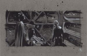 Luke, Vader and the Emperor by JeffLafferty