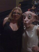 Dobby @ the premiere by LadyFrost321