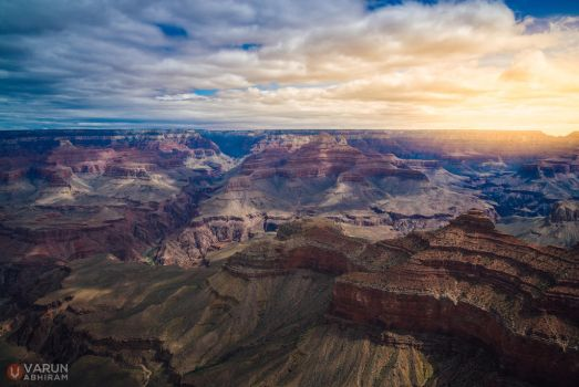 Grand Canyon: South Rim by varunabhiram