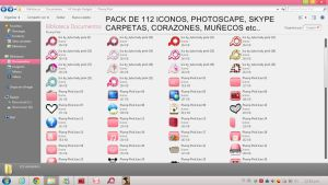 Pack de Iconos PNG Para Windows 7 by JelouimAUnicornio