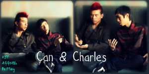 Bromance: Can and Charles. by Ashley44598X