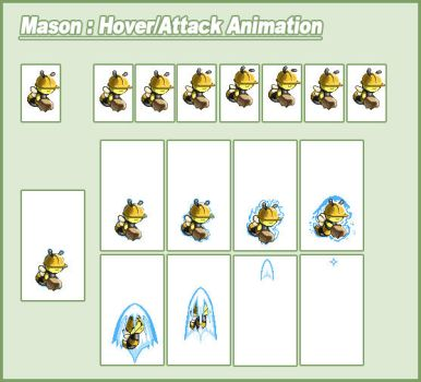 Mason Bee Animation cycle by CWSSoftware