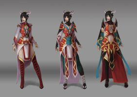 Clothes concept red ones by NightmareMoonLuna