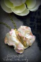 Sweet Rose: Vulva Necklace by VulvaLoveLovely