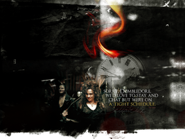Bellatrix - wallpaper by lore246