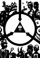 SCP Foundation X Gravity Falls by SunnyClockwork