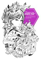 There me, Dare me by tim-n-pens