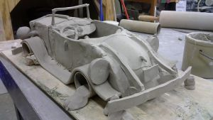 ceramic project ( my race car ) Part 1 by ownerfate