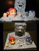 Teen Titans cement peril by TeenTitans4Evr