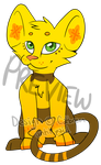 Shinx/Lion Cub Adoptable ($5.00 or 400pts) by Angiebutt