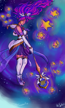 Star Guardian Janna by InvaderPixi