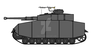 Panzer IV G with sideskirts by COLT731