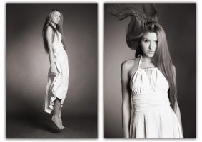 duo fashion portraits by scata