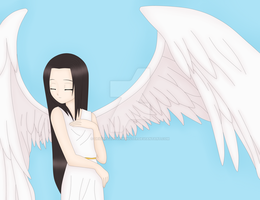 Neji - Angel by DeidaraLittleMonster