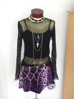 mesh top-purpel skirt 2 by Mistress-Stock
