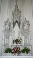 Denver Cathedral Statue 39 by Falln-Stock