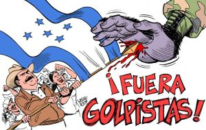 Honduras coup resistance by Latuff2