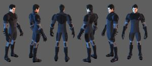 Hero Toon Batfamily Suit by 6and6