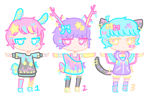 Point Adopt Batch #001 by strawberrysexual