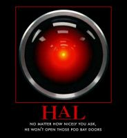 HAL 9000 by AwesomenessDK