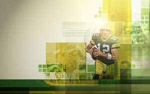 Aaron Rodgers by mrh09