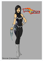 Teen Titans - Donna Troy Redesign by Femmes-Fatales